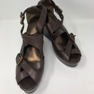Coach Wedges (woman's 11)